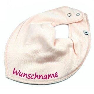 HALSTUCH mit Namen oder Text personalisiert für Baby oder Kind verschiedene Ausführungen