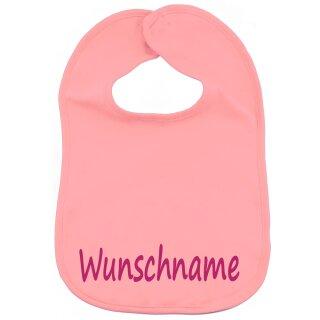 Lätzchen mit Namen oder Text personalisiert für Baby oder Kleinkind verschiedene Ausführungen