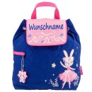 Rucksack Kindergartentasche mit Namen bedruckt Motiv...