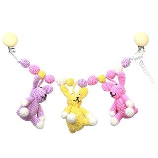 natureZOO Kinderwagenkette (Kaninchen Schwestern)