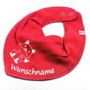 HALSTUCH Fuchs mit Namen oder Text personalisiert...